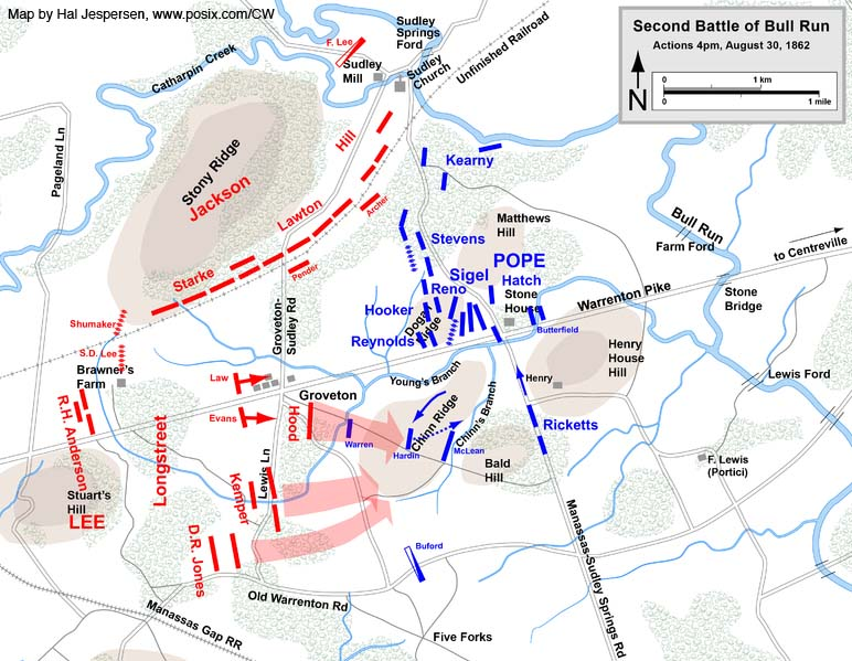 Accessible Civil War | Prelude To The Second Battle of Manassas