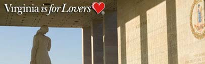 Virginia is for lovers: veterans memorial