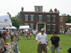 Thousands visit the mansion at Chippokes.