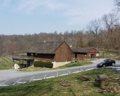 Panorama view of the winery