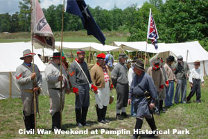 Civil War renactment